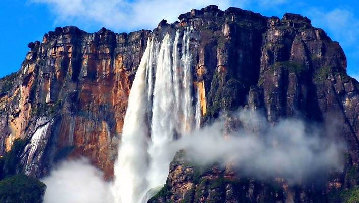 Angel falls worlds highest water wallpaper