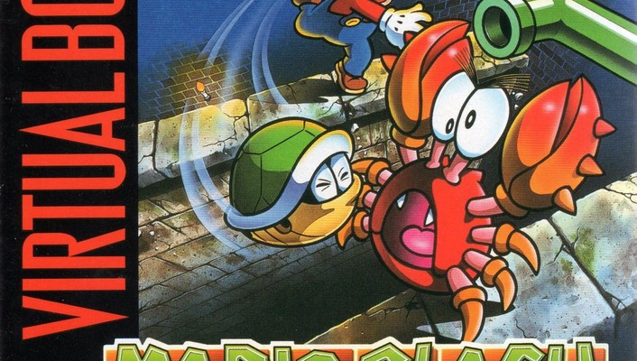 Mario turtles artwork crabs virtual boy clash wallpaper