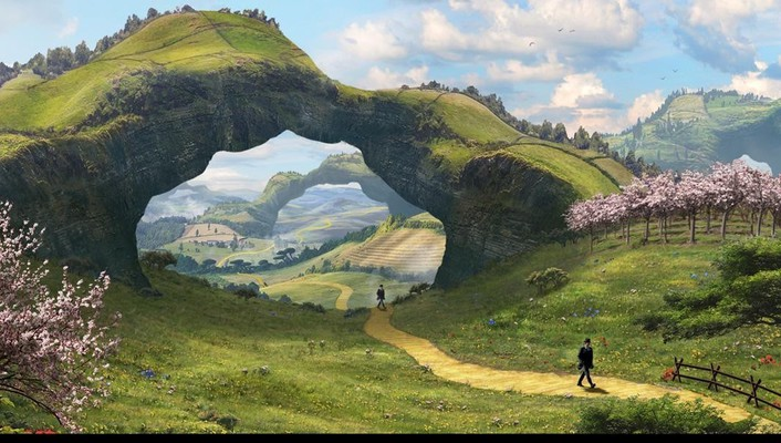Concept art oz: the great and powerful wallpaper
