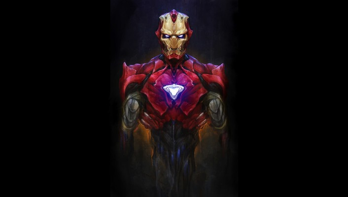 Suit android artwork marvel comics bionic evil wallpaper
