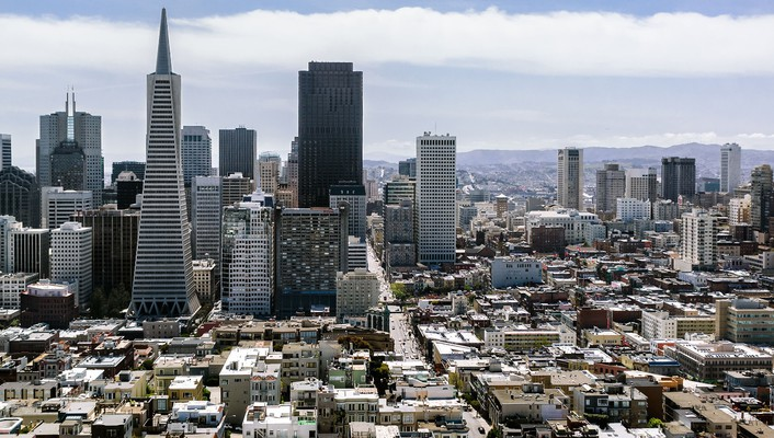 Cityscapes architecture buildings california san francisco cities wallpaper