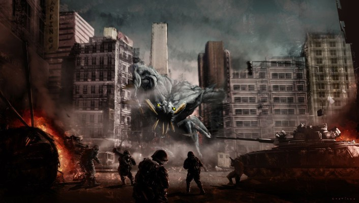 Cloverfield fans fantasy art wallpaper