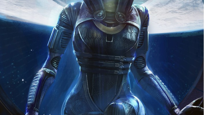 Mass effect 2 tali zorah nar rayya wallpaper