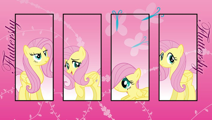 My little pony: friendship is magic four wallpaper