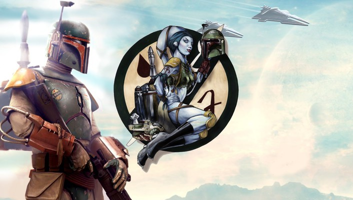 Star wars boba fett wallpaper