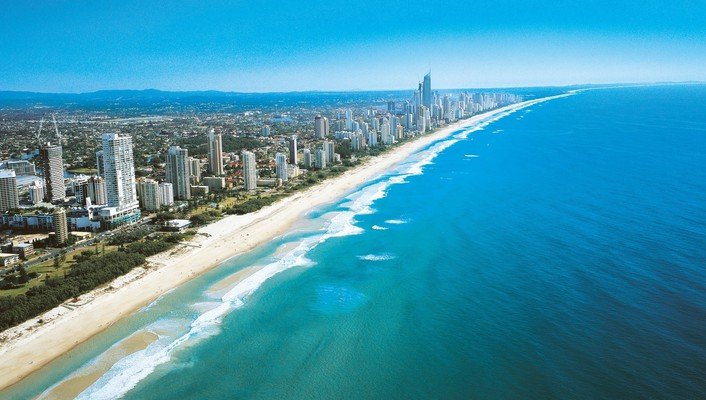 Gold coast australia wallpaper