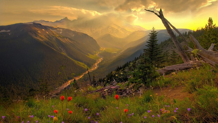 Landscapes nature panorama twilight (time of day) wallpaper
