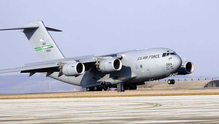 Aircraft c-17 globemaster war wallpaper