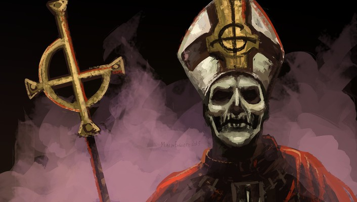 Ghost b.c. papa emeritus wallpaper