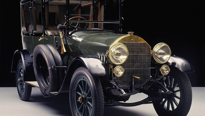 Mercedes-benz 1912 vintage car wallpaper