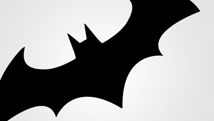 Comics digital art simple background batman logo wallpaper