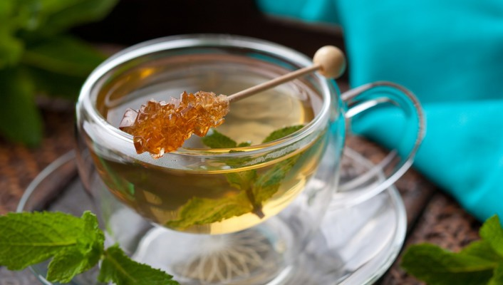 Tea sugar mint drinks stick entertainment wallpaper