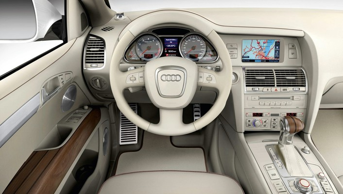 Cars audi interior vehicles q7 suv german wallpaper