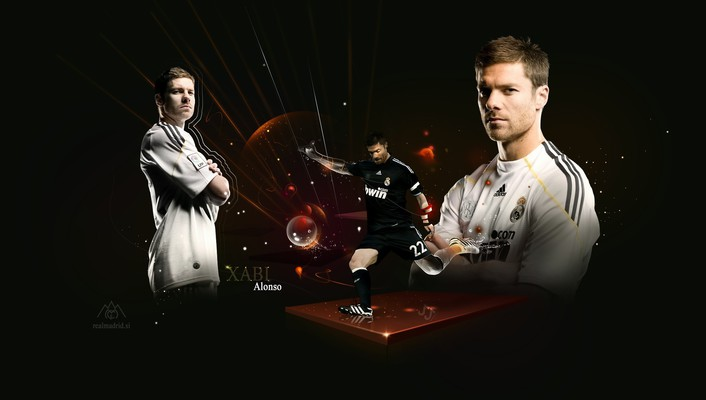 Xabi alonso real madrid wallpaper