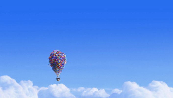 Balloons skies wallpaper