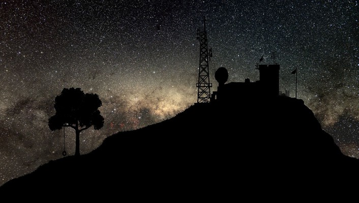 Landscapes outer space stars spac wallpaper