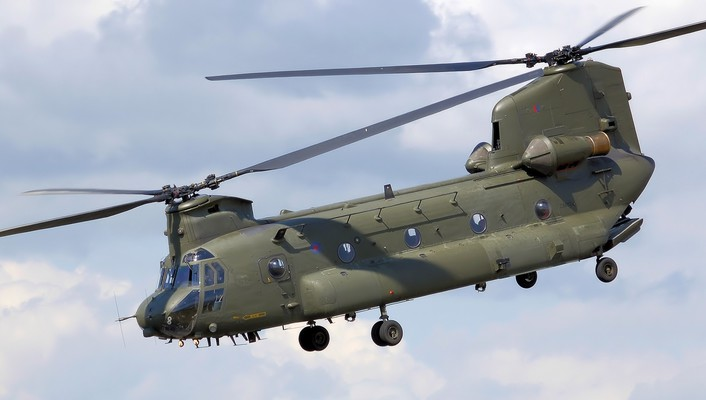 Aircraft ch-47 chinook syncropter wallpaper