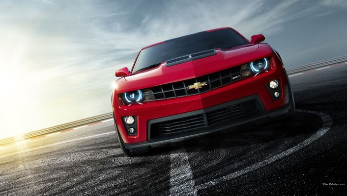 Chevrolet cars front view roads vehicles wallpaper