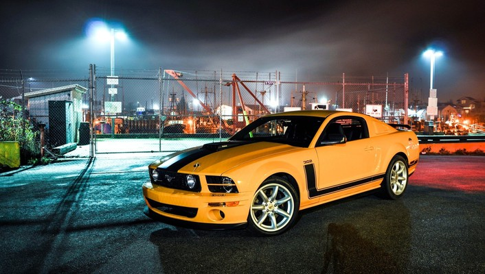 Ford mustang cars muscle speed street wallpaper