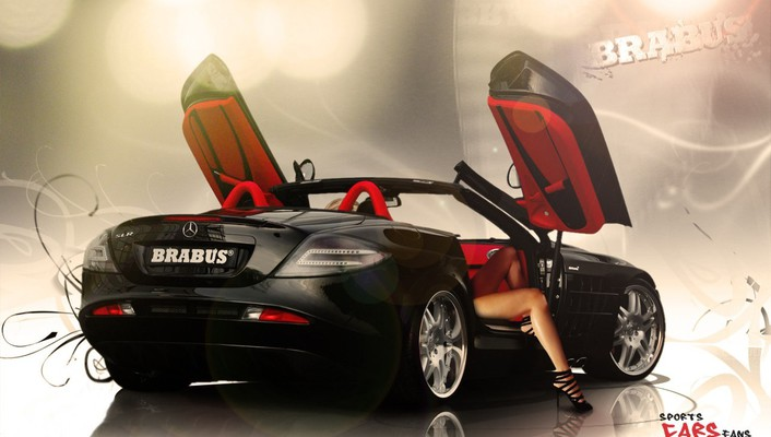 Cars mercedes-benz cabrio wallpaper