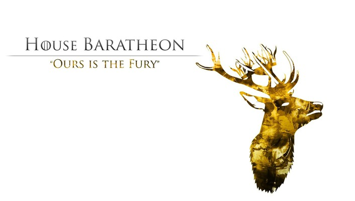 Ice and fire tv series house baratheon wallpaper