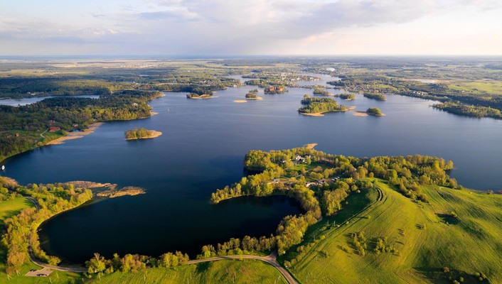 Landscapes nature lithuania baltic states unseen wallpaper