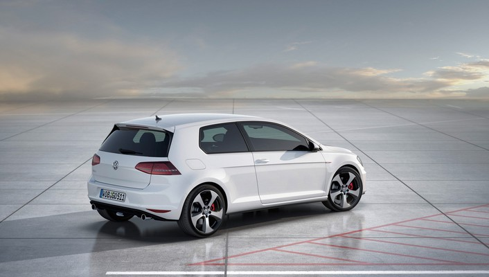 Concept art static volkswagen golf gti wallpaper