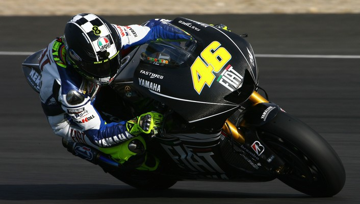 Gp valentino rossi the doctor fiat yamaha wallpaper
