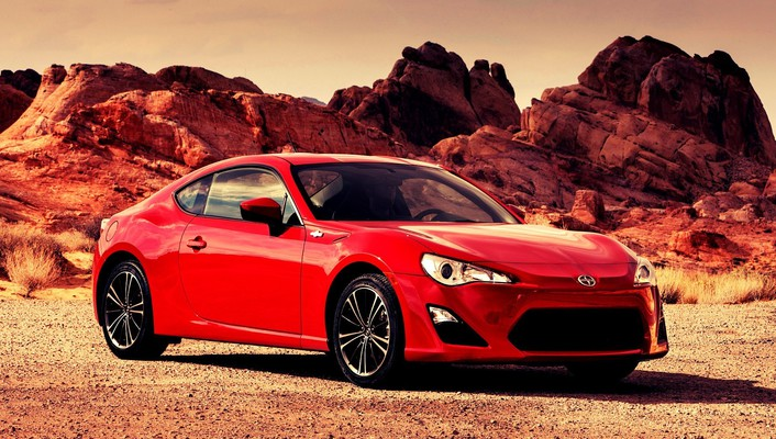 Scion cars red wallpaper