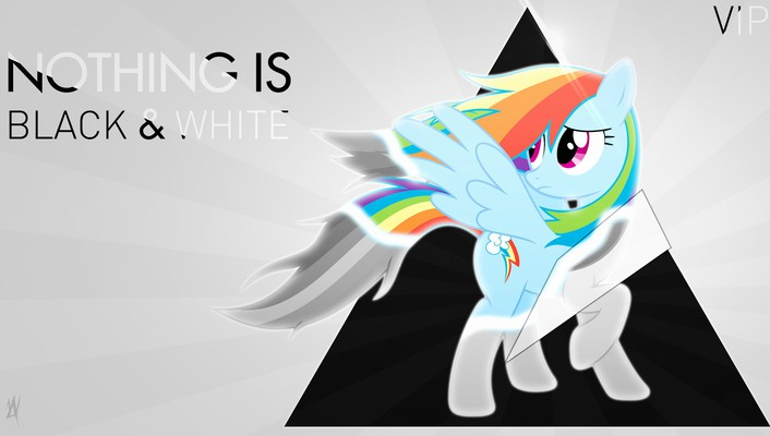 My little pony: friendship is magic nothing wallpaper