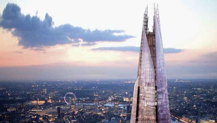 Architecture the shard wallpaper