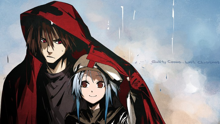 Carol (guilty crown) crown: lost christmas scrooge wallpaper