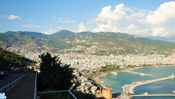 Port alanya wallpaper