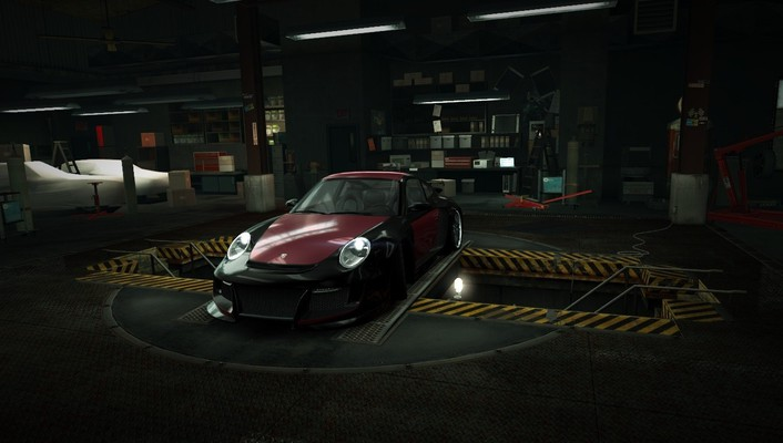 Speed porsche 911 world turbo garage nfs wallpaper
