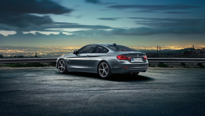 Cars grey bmw 4 series coupe wallpaper