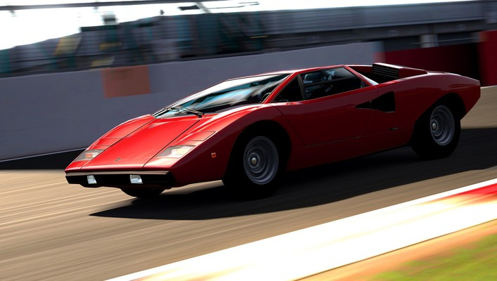 Lamborghini countach playstation 3 gran turismo 6 wallpaper
