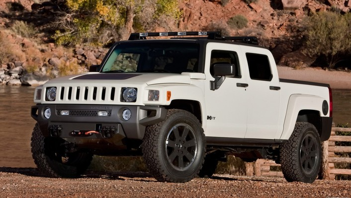 Chevrolet silverado hummer expected vehicles white wallpaper