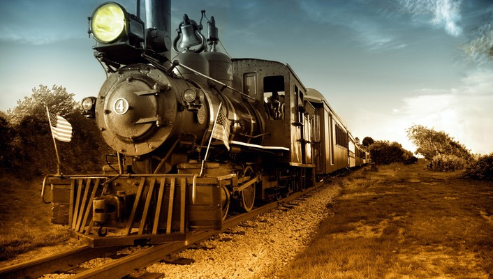 Steam locomotives trains wallpaper