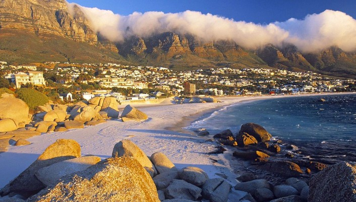 South cape town beach wallpaper