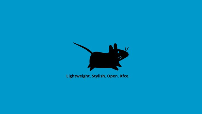 Blue minimalistic mice background wallpaper