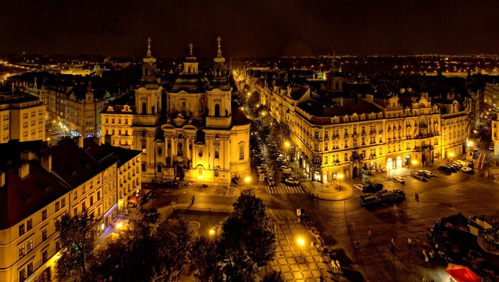 Czech republic prague architecture buildings wallpaper