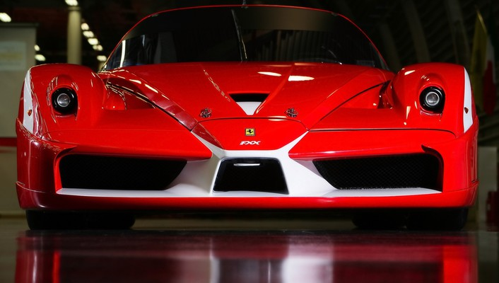 2008 ferrari fxx evolution front wallpaper