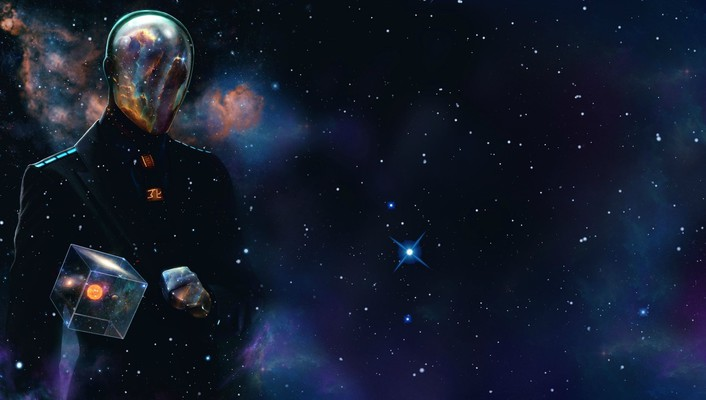 Hex last man standing men outer space wallpaper