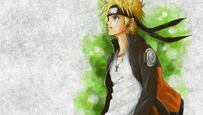 Naruto: shippuden uzumaki naruto hands in pockets headbands wallpaper