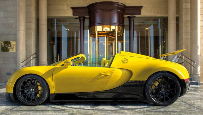 Bugatti veyron grand qatar wallpaper