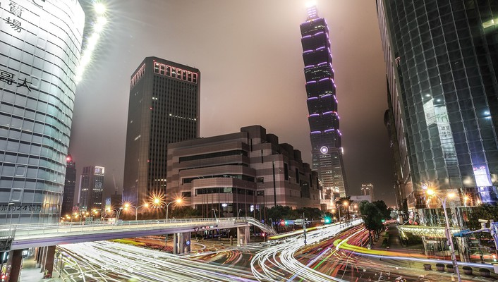 Cityscapes lights taiwan taipei 101 cities wallpaper