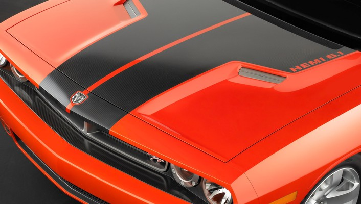 2006 dodge challenger concept art wallpaper