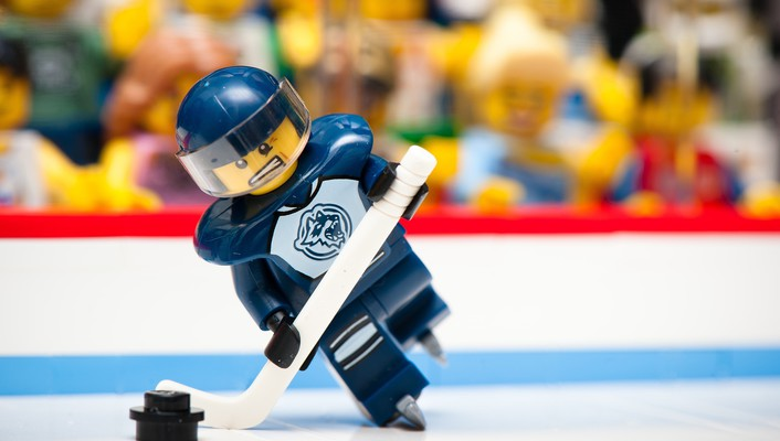 Legos funny hockey macro sports wallpaper