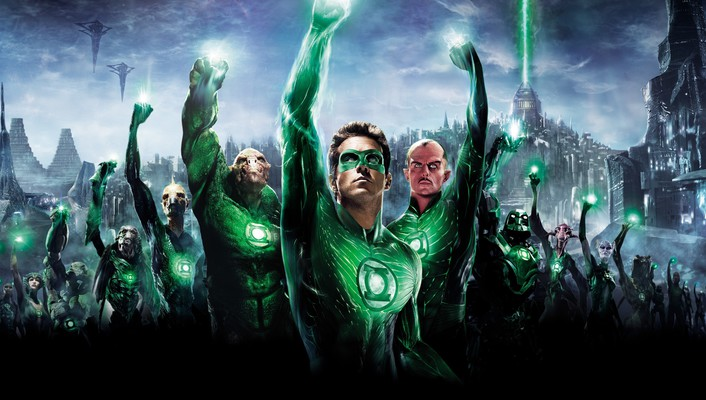 Dc comics green lantern mark strong ryan reynolds wallpaper