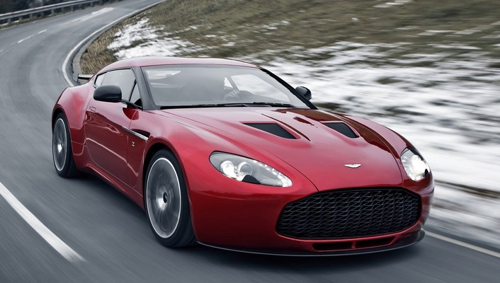 Aston martin v12 zagato cars supercars wallpaper